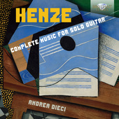 Album artwork for Henze: COMPLETE MUSIC SOLO GUITAR