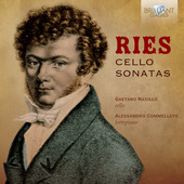 Album artwork for Ries: CELLO SONATAS