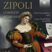 Album artwork for Zipoli: COMPLETE KEYBOARD MUSIC