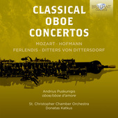 Album artwork for CLASSICAL OBOE CONCERTOS