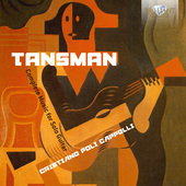Album artwork for Tansman: COMPLETE MUSIC FOR SOLO GUITAR