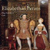 Album artwork for ELIZABETHAN PAVANS on Lute