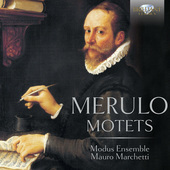 Album artwork for Merulo: MOTETS