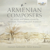 Album artwork for Art Song and Piano Music by Armenian Composers
