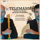 Album artwork for Telemann: RECORDER SONATAS