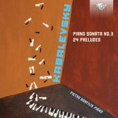 Album artwork for Kabalevsky: Piano Sonata No. 3 - 24 Preludes