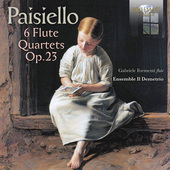 Album artwork for Paisiello: 6 Flute Quartets, Op. 23