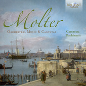 Album artwork for Molter: Orchestral Music and Cantatas