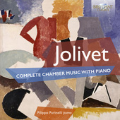 Album artwork for Jolivet: Complete Chamber Music with Piano