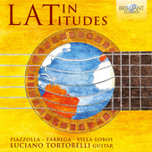 Album artwork for LATIN LATITUDES: GUITAR MUSIC / Tortorelli
