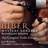 Album artwork for Biber: Mystery Sonatas