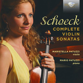 Album artwork for Schoek: Complete Violin Sonatas / Patuzzi