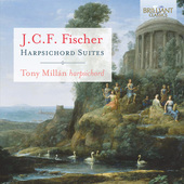 Album artwork for Fischer: Harpsichord Suites