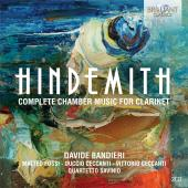 Album artwork for Hindemith: Complete Chamber Music for Clarinet