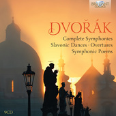 Album artwork for Dvorak: Complete Symphonies, Slavonic Dances, etc