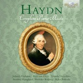 Album artwork for Haydn: COMPLETE PIANO MUSIC