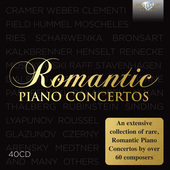 Album artwork for ROMANTIC PIANO CONCERTOS