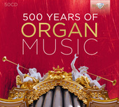 Album artwork for 500 YEARS OF ORGAN MUSIC