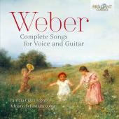 Album artwork for Weber: Complete Songs for Voice and Guitar