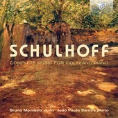 Album artwork for Schulhoff: Complete Music for Violin and Piano