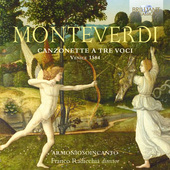 Album artwork for Monteverdi: Canzonette a tre voci