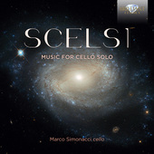 Album artwork for Scelsi: Music for Cello Solo