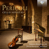 Album artwork for Pericoli: Cello Sonatas