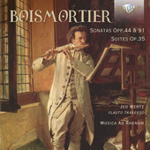 Album artwork for Boismortier: Sonatas Opp. 44 & 91 - Suites, Op. 35