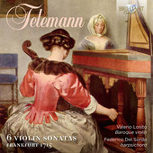 Album artwork for Telemann: Violin Sonatas