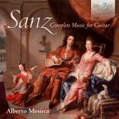 Album artwork for Sanz: Complete Music for Guitar