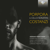 Album artwork for Porpora & Costanzi: 6 Cello Sonatas
