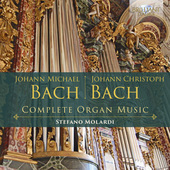 Album artwork for J.M. Bach, J.C. Bach: Complete Organ Music