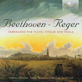 Album artwork for Beethoven & Reger: Serenades for Flute, Violin and
