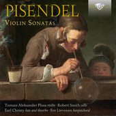 Album artwork for Pisendel: Violin Sonatas