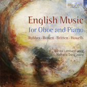 Album artwork for English Music for Oboe and Piano