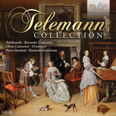 Album artwork for Telemann Collection