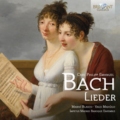 Album artwork for Bach: Lieder