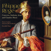 Album artwork for Ruge: Concerto, Sinfonia, Arias and Chamber Music