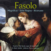 Album artwork for Fasolo: Magnificat, Salve Regina, Ricercates