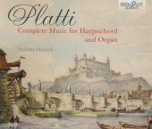 Album artwork for Platti: Complete Music for Harpsichord and Organ