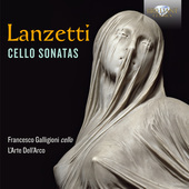 Album artwork for Lanzetti: Cello Sonatas
