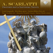 Album artwork for Scarlatti: Oratorio per La Santissima Trinità