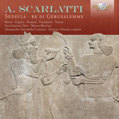 Album artwork for Scarlatti: Sedecia, re di Gerusalemme