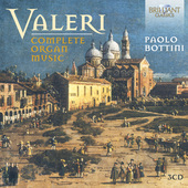 Album artwork for Valeri: Complete Organ Music