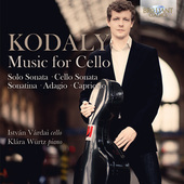 Album artwork for Kodály: Music for Cello / Vardai