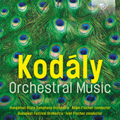 Album artwork for Kodály: Orchestral Music