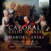 Album artwork for Caporale: Cello Sonatas, Handel: Arias