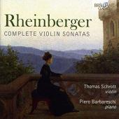 Album artwork for Rheinberger: Complete Violin Sonatas