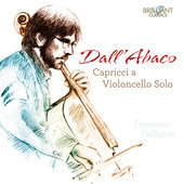 Album artwork for Dall'Abaco: Capricci a Violoncello Solo