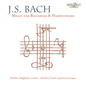 Album artwork for J.S. Bach: Music for Recorder & Harpsichord